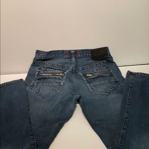 🆕MENS GUESS JEANS-Cool Zippered back pockets